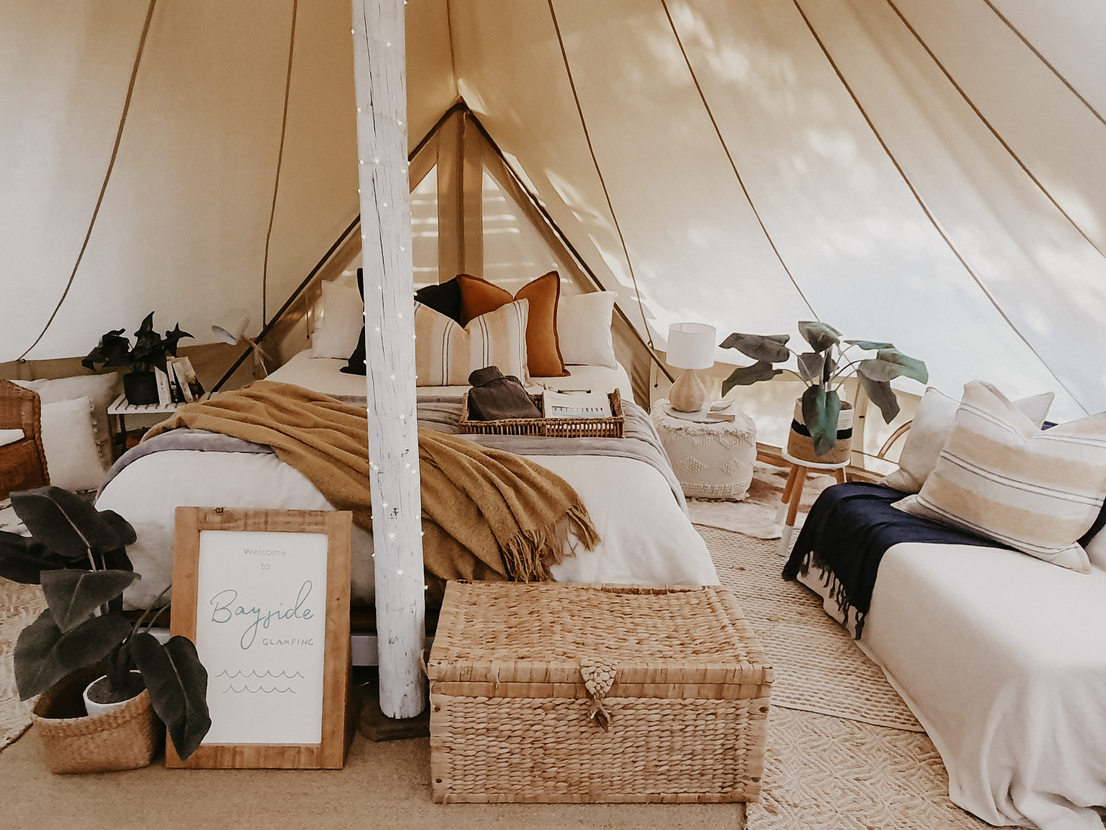 Bayside Glamping Tent